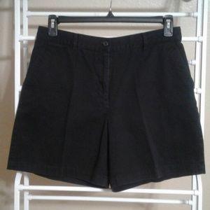 Ralph Lauren Black Denim Short Size 12P